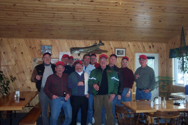 Aitkin, MN Group - breakfast group pic