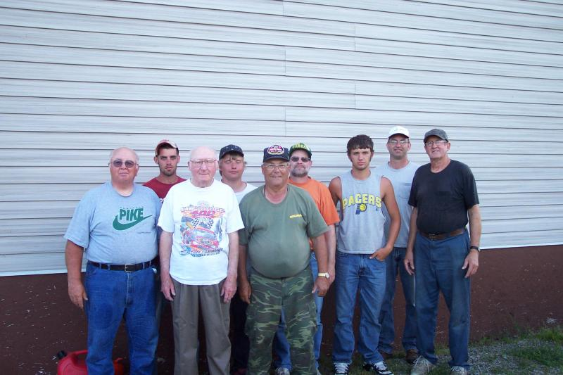 Terry Smith Fishing Group 2010