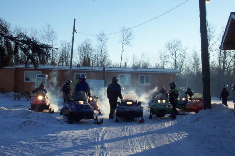 Aitkin, MN Snowmobile Group -
